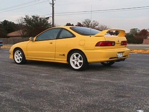 2000 Acura Integra Type R With Volks TE37's