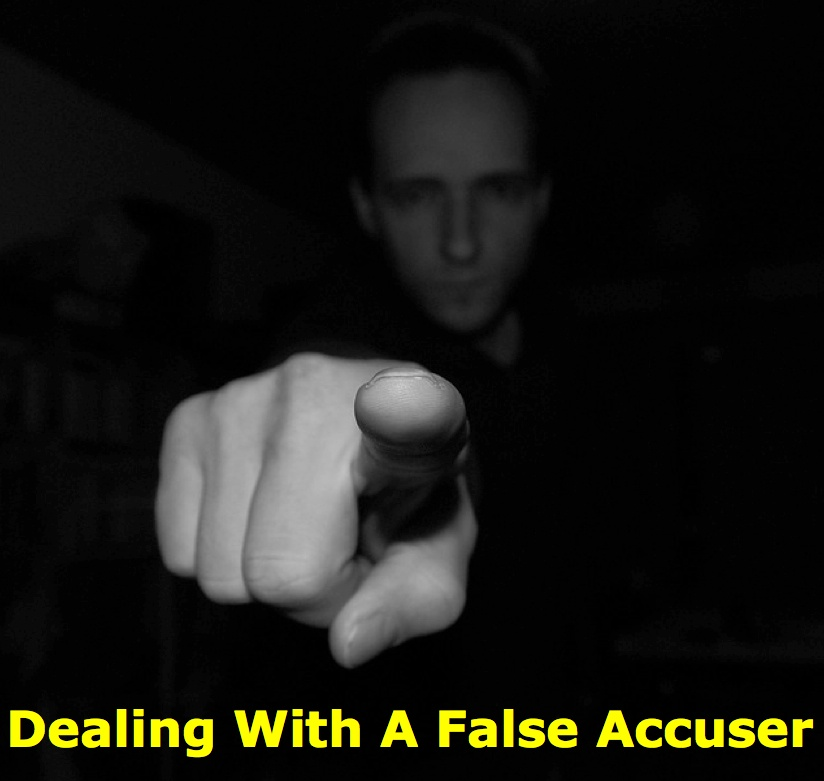 Dealing With A False Accuser - LEANING TOWARD WISDOM Episode 4042