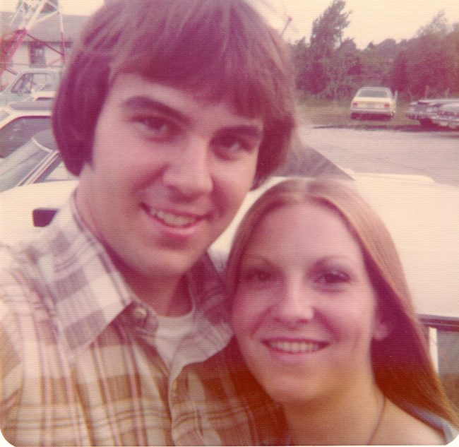 Randy And Rhonda - Selfie Circa 1977