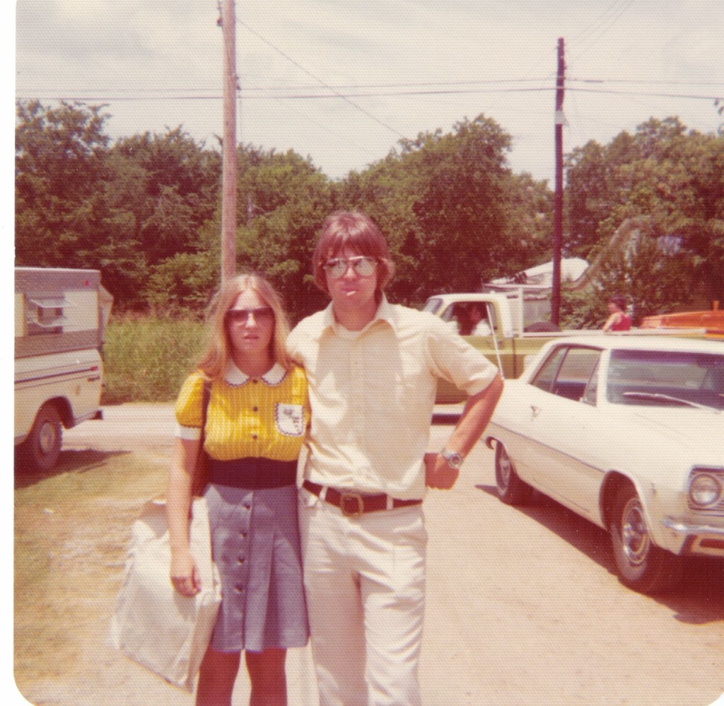July 1975 - Rhonda and Randy